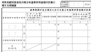 別表14(1)付表